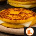 Arepa de choclo con queso